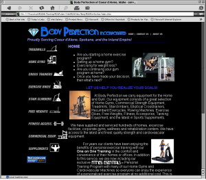 body_perfection_website_design